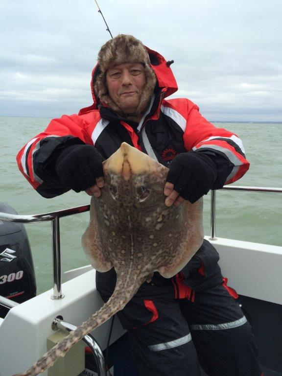 Freds Thorn Backed Ray.